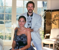 Olivia Hussey and Urbano Galindo