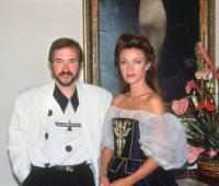Jane Seymour and Urbano Galindo