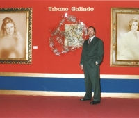 Urbano Galindo before his works