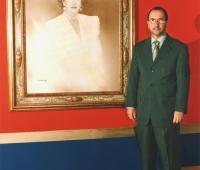 Urbano Galindo and the portrait of HRH Infanta Doña Pilar de Borbón
