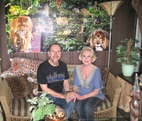 Tippi Hedren and Urbano Galindo