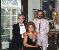 Mrs Paul Getty, Mr Blackwell and Urbano Galindo