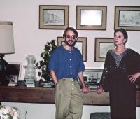 Jean Simmons and Urbano Galindo