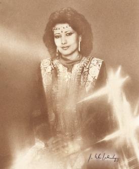 AMBASSADOR'S WIFE TO QATAR, AWATEF AL-DAFA