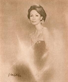 AMBASSADOR'S WIFE TO EGYPT, LULA KALIFA
