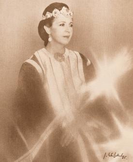 AMBASSADOR'S WIFE TO MOROCCO, SORAYA GUESSUS DE KADIRI