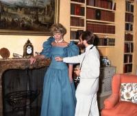 S A R Princesa María Cristina de Kent posando para Urbano Galindo