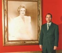 Urbano Galindo y el retrato de S A R  la Infanta Doña Pilar de Borbón